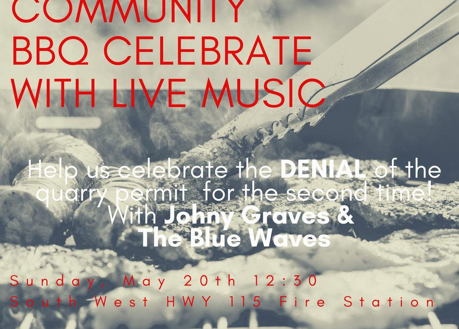 Community Celebration! BBQ With Live Music!